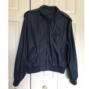 Vintage Members Only Navy Blue Jacket